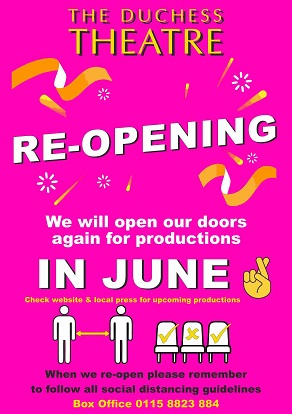 Theatre reopening